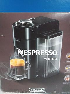 Nespresso ENV135GY Coffee and Espresso Machine by De'Longhi, Graphite Metal(Factory Sealed) COME PREVIEW!!!! (online $140)