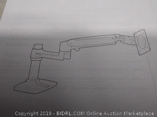 amazonbasics single monitor display mounting arm