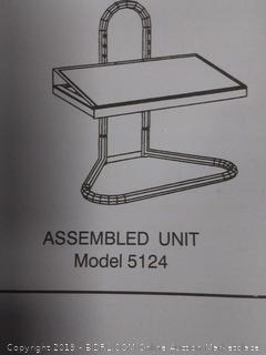 """Safco Industrial Adjustable Footrest - 15"""" Adjustment - Tilt - 20"""" X 12"""