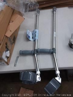 Medline adult forearm crutches