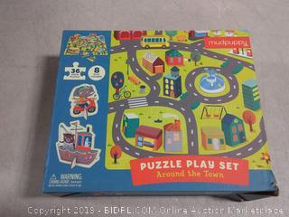 Around the Town Puzzle Play Set : MUDPUPPY