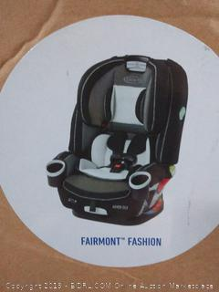 Graco 4Ever DLX 4 in 1 Car Seat Infant to Toddler Car Seat, with 10 Years of Use, Fairmont (online $199)