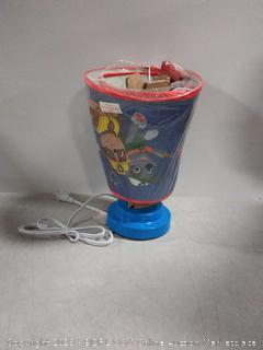 Nickelodeon Paw Patrol Table Lamp with Die Cut Lamp Shade (slightly bent)