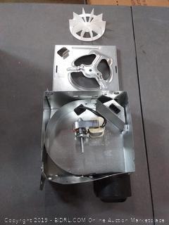 Broan 4-Sone 50-CFM White Bathroom Fan