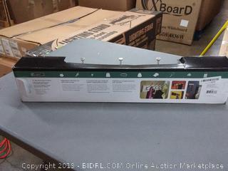 "Liberty Hardware 129848 Hook Rail/Coat Rack 27"" Flat White and"