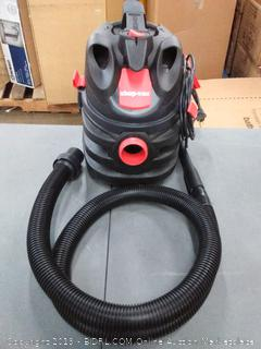 shop vac red and black (powers on)