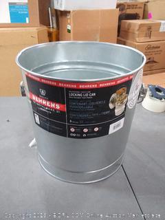 Behrens 6106 6 Gallon Galvanized Sheet Garbage Pail