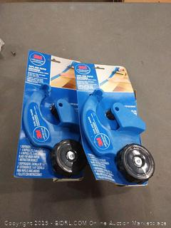 3M tape and paper dispenser two pack