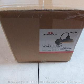 Mason wall light products sealed before opening