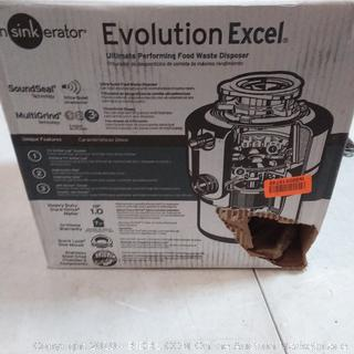 Evolution Excel food waste disposal possibly damaged please review
