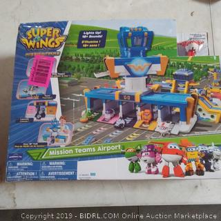 Super Wings Mission teams Airport