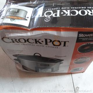 crock pot light damage please review