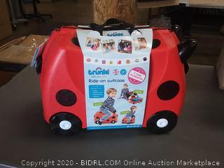 Trunki Children's Ride On Suitcase Harley Ladybug