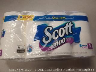 Scott Toilet Paper 8.00 rolls