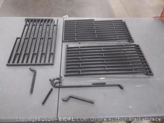 Uniflasy classic Cast Iron cooking grill (some broken pieces)