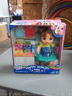 Hasbro Toy Shop: Baby Alive Happy Hungry Baby Brown Straight
