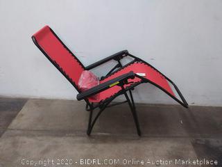 Bliss hammocks red lounger chair