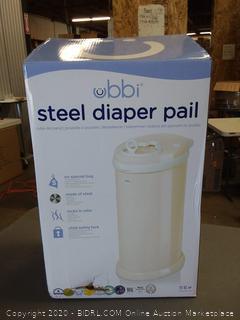 Ubbi Nappy Disposal Diaper Pail Bin Ivory 698904100072 |