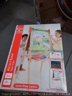 all-in-one easel by Hape