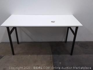 55 inch folding computer desk