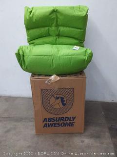 Big Joe Roma Bean Bag Chair, Spicy Lime Spicy Lime Smartmax