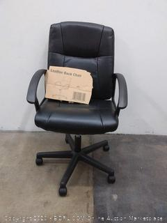 Essentials by OFM Ergonomic Leather Executive Office Chair