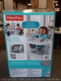 Fisher-Price space saver high chair 50 lb limit