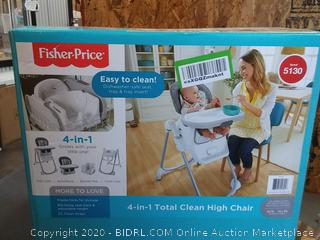 Fisher-Price FLH18 High Chair 4-In-1 Total Clean for $100.40.