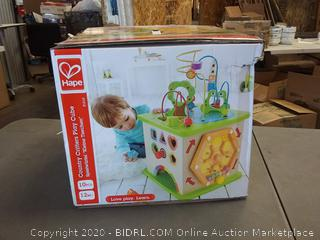 Hape Country Critters play Cube 12 months plus