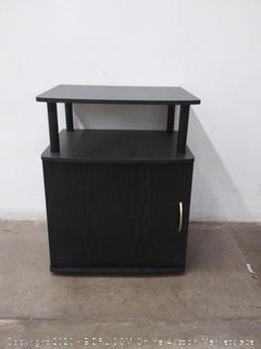 Furno black nightstand