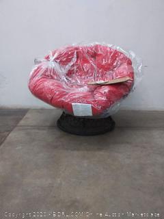 New Papasan Chair 360 Degree Swivel Base