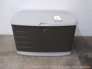 Rubbermaid 2047053 Deck Box Medium Sandstone