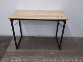 modern computer desk Walnut