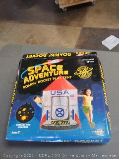 space adventure roarin rocket play tent ages 3 plus