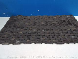 Durite 24in by 36in a recycled tire mat(previously owned)