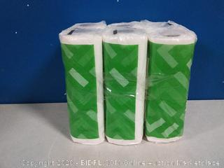 Solimo Paper Towels 3pck/2 rolls