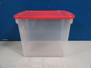 Homz Latching Box 31qt
