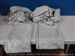 CGK Unlimited microfiber sheets king size (previously owned)