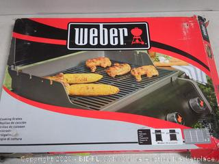 Weber cooking grates (one grate broken, see photos)