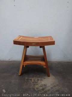 EcoDecors wooden stool