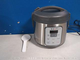 instant pot Zest Rice and Grain cooker(previously owned/powers on)