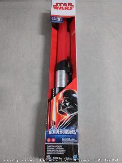 Star Wars bladebuilders electronic lightsaber Darth Vader (online $27)