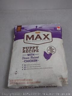 NUTRO MAX Puppy Recipe With Farm Raised Chicken Dry Dog
