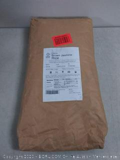 organic brown jasmine rice 25 lb