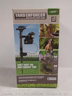Orbit 62100 Yard Enforcer Motion-Activated Sprinkler with Day & Night Detection Modes (online $69)
