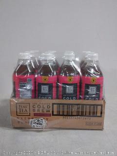 teas tea organic ice steeped cold brew slightly sweet raspberry black tea