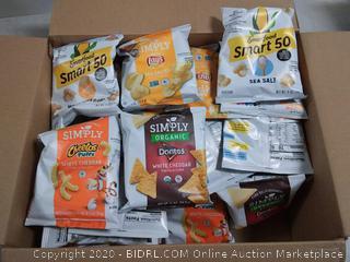 smartfood mix chips, etc