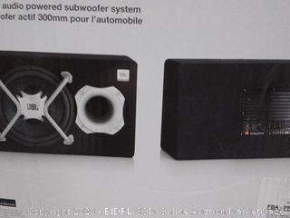 JBL GT basspro12 12in car audio powered subwoofer system (online $189)