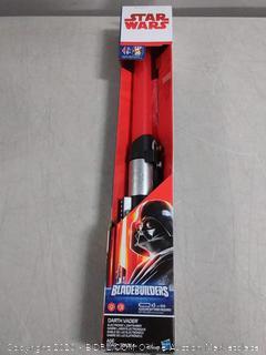 Star Wars bladebuilders lightsaber Darth Vader (online $28)