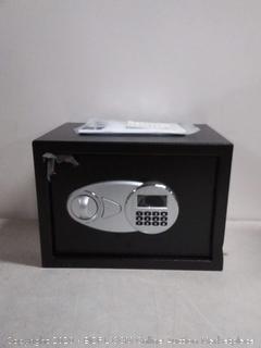 AmazonBasics Security Safe Box, 0.5 Cubic Feet (online $59)
